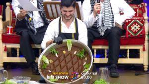 İbo Show'da bu hafta 'Sıra Gecesi' Urfa'dan 'Çiğköfte' Adıyaman'dan