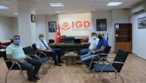İl Emniyet Müdürü Ergüder'den İGC'ye ziyaret