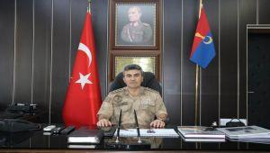İl Jandarma Komutanı Albay Yeşılyurt göreve başladı