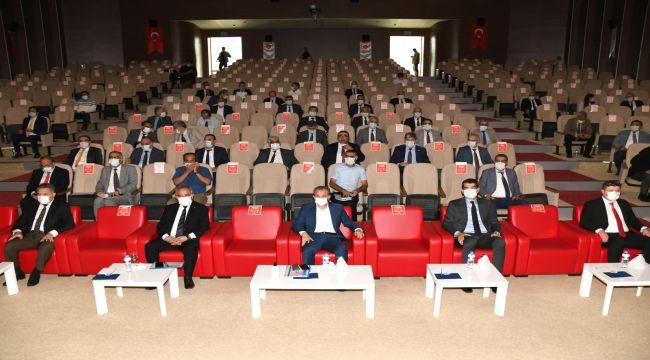 'İl Koordinasyon Kurulu Toplantısı' Vali Çuhadar başkanlığında yapıldı
