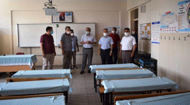 İl Milli Eğitim Müdürü Alagöz'den LGS öncesi Besni'ye ziyaret