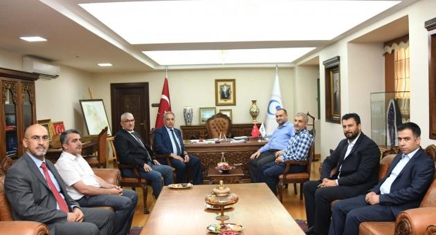 İl Müftüsü Taşçı'dan Rektör Turgut'a Ziyaret