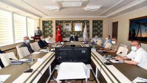 İl Pandemi Kurulu Vali Mahmut Çuhadar Başkanlığında toplandı