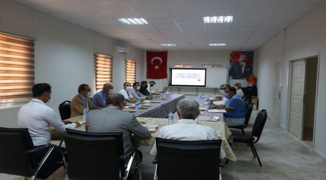 İlçe müdürleriyle bilgilendirme ve istişare toplantısı