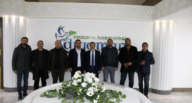 İMO ve Şehir Plancılarından, Başkan Kılınç'a Ziyaret