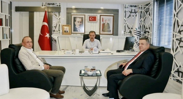İşadamı Erdemoğlu'ndan, Başkan Kılınç'a Ziyaret