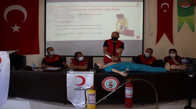 İtfaiye ekiplerine 'temel ilkyardım eğitimi' verildi - Videolu Haber