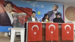 İYİ Parti Gölbaşı'nda 2'nci Olağan Kongresini Yaptı
