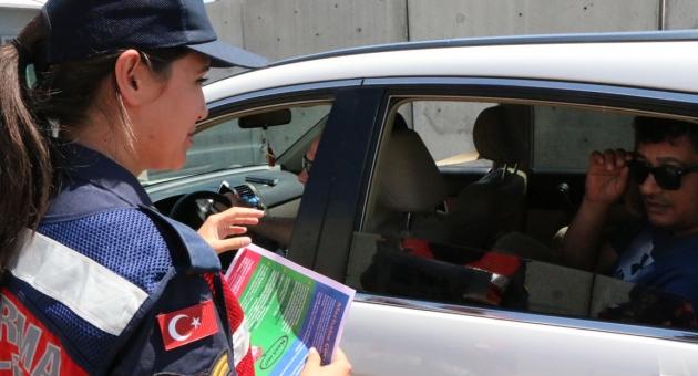 Jandarma Sürücüleri Uyardı - Videolu Haber