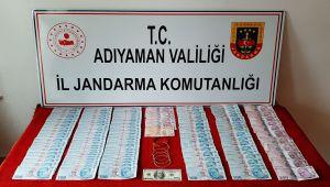 Jandarmadan sahte para ve altın operasyonu: 2 gözaltı
