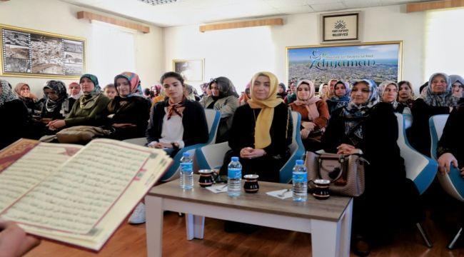 Kadın ve Gençlik Merkezi'nde Mevlit Kandili Programı
