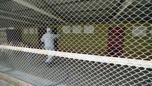 Kahramanmaraş'ta Hayvan Barınakları Dezenfekte Edildi
