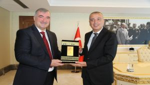 Kahta Belediyesi ile Ataşehir Belediyesi Kardeş Belediye Oldu