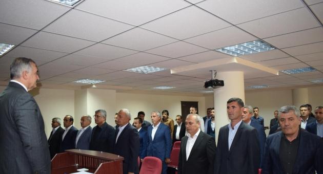 Kahta Belediyesi İlk Meclis Toplantısını Yaptı