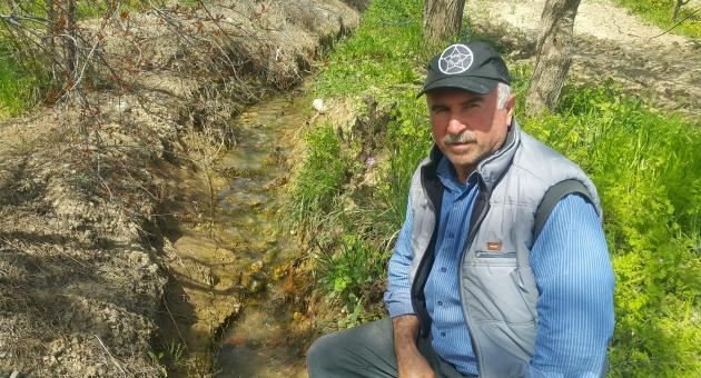 Kahta'da 20 Yıl Önce Kuruyan Çeşmelerden Su Aktı