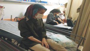 Kahta'da 75 tekstil işçisi yedikleri yemekten zehirlendi