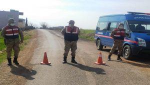 Kahta'da bir köy karantinaya alındı