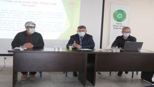 Kahta'da çiftçiler kırsal kalkınma destekleri konularında bilgilendirildi