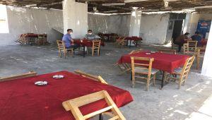 Kahta'da kahvehaneler açılmadı