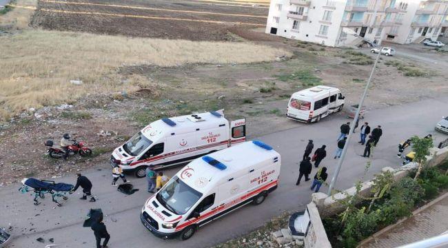Kahta'da Otomobil İle Minibüs Çarpıştı: 6 Yaralı