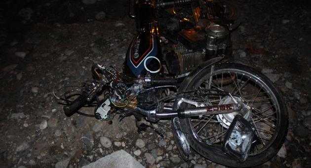 Kahta'da Otomobil İle Motosiklet Çarpıştı: 2 Yaralı