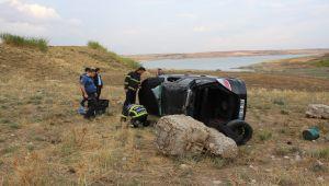 Kahta'da Trafik Kazası: 1 Ölü, 1 Yaralı