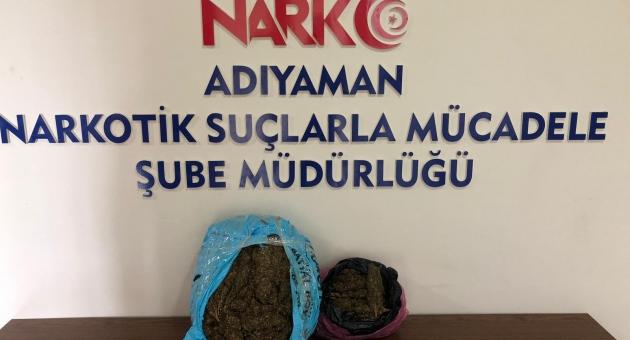 Kahta'da Uyuşturucu Operasyonu: 1 Tutuklama