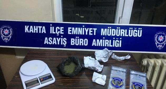 Kahta'da Uyuşturucu Operasyonu: 1 Tutuklu