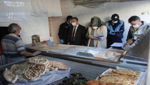 Kahta'da zabıta ekipleri fırınları denetledi