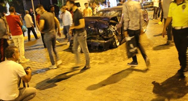 Kahta'da Zincirleme Kaza: 5 Yaralı