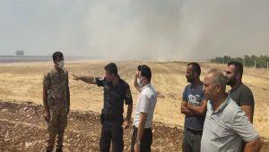 Kahta Kaymakamı Koç, anız yangınlarına karşı vatandaşları uyardı