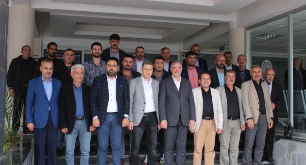 Kahtaspor Yöneticilerinden Başkan Turanlı'ya Ziyareti