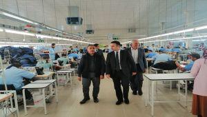 Kaymakam Doğan'dan OSB Yatırımcılarına Ziyaret