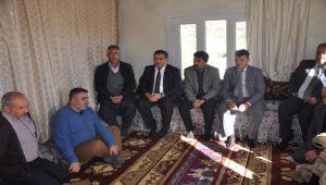Kaymakam İmamoğlu'ndan Barış Pınarı Harekatı Gazisine Ziyaret