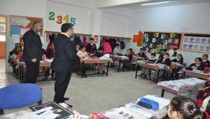 Kaymakam İmamoğlu'ndan Okullara Ziyaret
