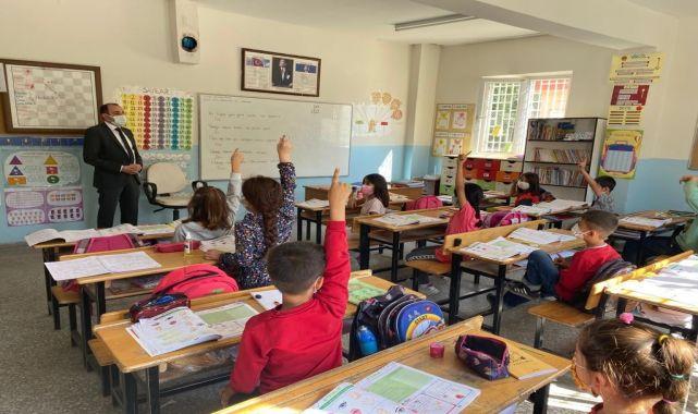 Kaymakam Pamuk'tan okullara ziyaret