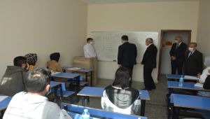 Kaymakam Uçar'dan halk eğitim merkezine ziyaret