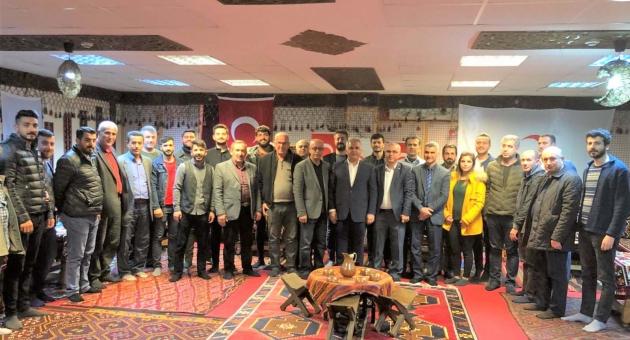 Kemal Kutlu, Kahta Türkiye Kızılay Derneği Başkanlığına Seçildi