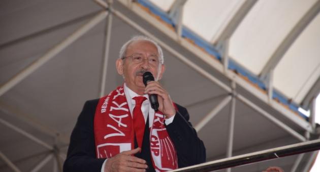 """Kılıçdaroğlu: """"Biz Kimsenin Aşıyla, İşiyle Uğraşmayız"""""""