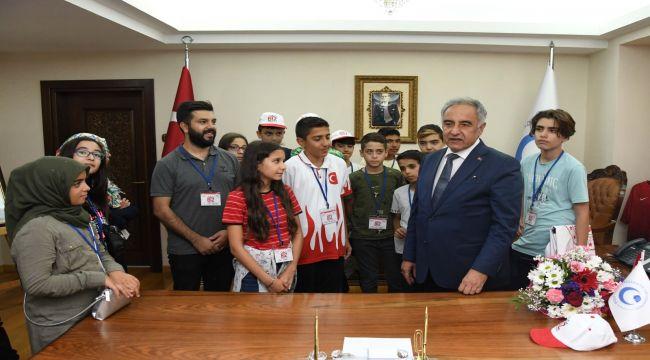 Kırşehirli Öğrencilerden Adıyaman Üniversitesine Ziyaret