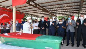 Kore Gazisi İbrahim Tatlı, son yolculuğuna uğurlandı