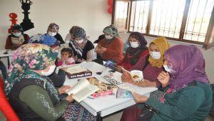 Köy sakinlerinin yaptırdığı kütüphane açıldı