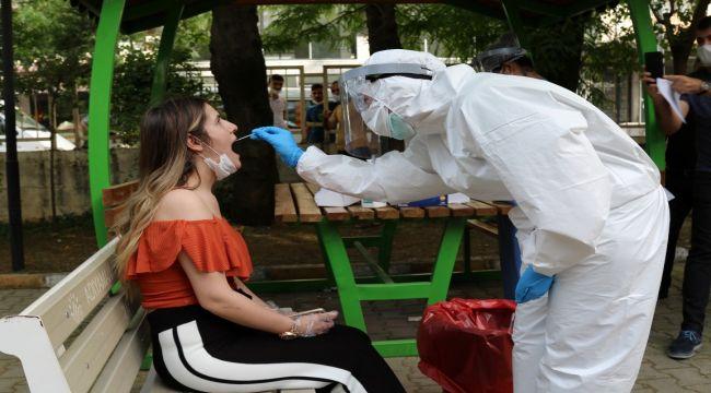 Kuaförlere Koronavirüs Testi Uygulaması