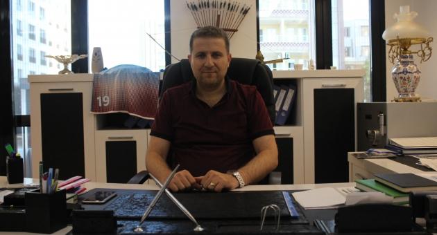 """Kulüp Başkanı Yıldırım: """"Kahta02 Spor Kulübü Yarı Yolda Kalmasın"""""""