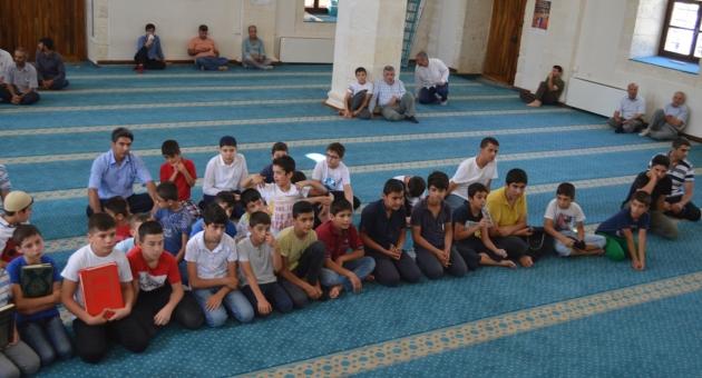 Kur'an Kursları Arası Kur 'an-ı Kerim Okuma Yarışması Düzenlendi