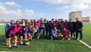 Lider Kahta 02 Spor -Şanlıurfa Belediyespor Maçı Hazırlıkları Devam Ediyor