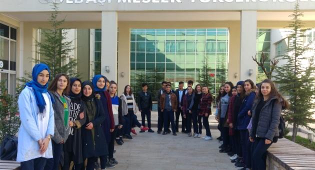Lise Öğrencilerinden Gölbaşı Meslek Yüksekokulu Gezisi
