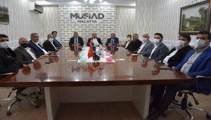 Malatya TSO'dan MÜSİAD Malatya Şubesi'ne ziyaret