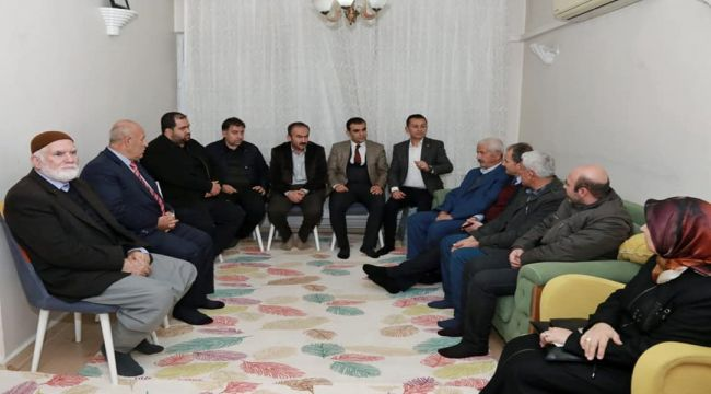 Mehmet Akif Mahallesi Sakinleri, Sorunlarını Başkan Kılınç'a İletti