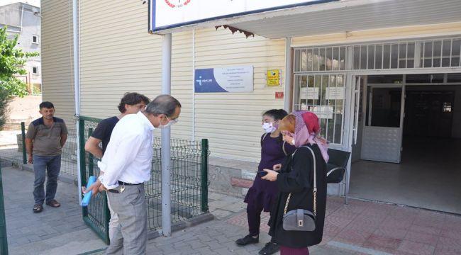 MEM Müdürü Özdemir'den LGS tercih bürolarına ziyaret